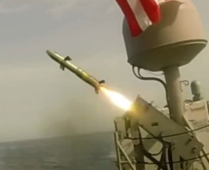 Gambar 1 Pengujian AGM-176 Griffin Missile from Coastal Patrol Ships in the U.S.